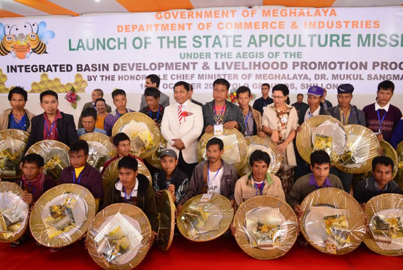 CM Inaugurated State apiculture-culture Mission