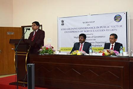 Workshop held in the city on Public Sector Enterprises governance in the North East